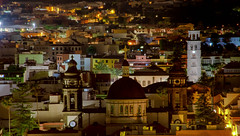 Cathedral Dome / Cupula de la Catedral (López Pablo) Tags: building night cathdral city street lalaguna tenerife canary islands spain nikon d7200 tower church