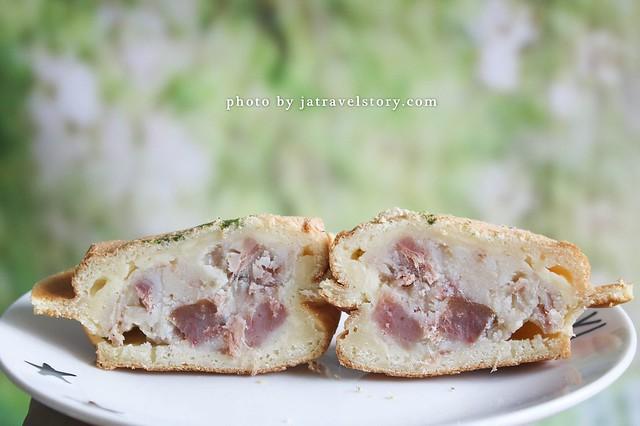 張大帥車輪餅 起司獅子頭車輪餅鹹甜涮嘴,還有刈包、涼麵、獅子頭可以選擇 【捷運景美】 @J&A的旅行