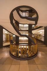2. S T O C K (spityHH) Tags: a7ii alpha hamburg sony staircase stairs treppenhaus stufen kontorhaus voigtländer hyperwideheliar city architektur