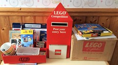 Mail box & bits Aug2018 (GoodPlay2) Tags: lego pos item rare early old vintage retro mail mailbox post postbox box legos system 1970s 70s display flyer promo promotional promotion competition pillbox british english legoland leaflet dispenser uk