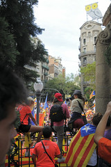 Fem la República Catalana. 2018 Barcelona . 9354 (antarc foto) Tags: one million people rally claim catalan independence freedom political prisoners september 11th 2018 diada de catalunya national day avinguda diagonal barcelona femlarepúblicacatalana