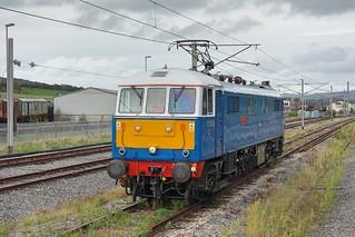 Class AL6 locomotive E3137/86259 Les Ross/Peter Pan at Carnforth