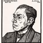 Portrait of Hendricus Petrus Bremmer (1916) by Julie de Graag (1877-1924). Original from the Rijks Museum. Digitally enhanced by rawpixel. thumbnail