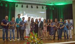 O vice-presidente da Fecomércio RN, Luiz Lacerda, coordenou na noite desta quinta-feira, 20, a solenidade de formatura da 19ª Turma do Programa Miniempresa e da 4ª Turma do Programa Liderança Comunitária da Junior Achievement RN