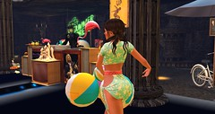 Club Drow (Osiris LeShelle) Tags: secondlife second life club drow avilion grove dance music party dj summer summertime fun