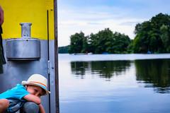 waiting for better days (franzi`s stuff) Tags: germany deutschland seen uckermark holidays summer fujifilm fuji xt20 kids emotions boring lake