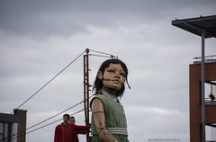 The Giants ,Royal de Luxe in Leeuwarden Netherlands
