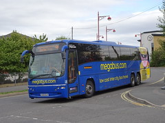 Stagecoach 54059 Derby Roundhouse (Guy Arab UF) Tags: stagecoach 54059 kx59dln volvo b12b plaxton panther coach megabus roundhouse derby railway station rail replacement bus service derbyshire buses