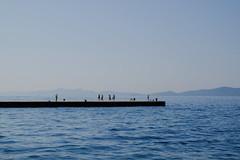 in Zadar, Kroatien (Werner Schnell Images (2.stream)) Tags: ws zadar kroatien croatia meer mittelmeer sea water wasser blau blue