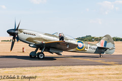 MV268  Spitfire (joseluiscel (Aviapics)) Tags: duxford flying legends qfo egsu supermarine spitfire gspit mv268 mv293johnniejohnson thefightercollection