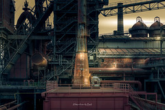 Landschaftspark 2018 (EBoss Fotografie) Tags: urbex duisburg germany industrial plant smeltingplant factory dark dramatic canon ruhrvalley colors light supershot