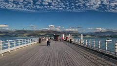 Beaumaris (Michael's shots) Tags: anglesey wales sea sky mountains nikond3100