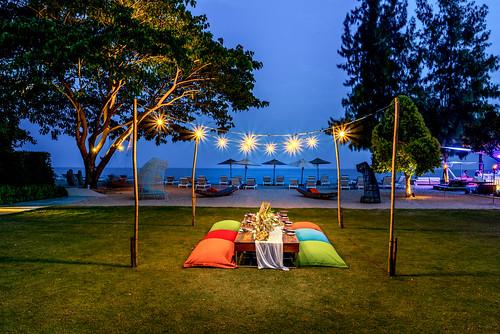 Beach Lawn for Casual Dinner