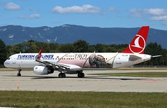 Turkish Airlines (The Year of Troy Livery). TC-JTP. Airbus A321-231. TK1918. (Themarcogoon49) Tags: turkish airlines airbus a321 troy livery planespotting gva lsgg cointrin airport avgeek switzerland aviation avion
