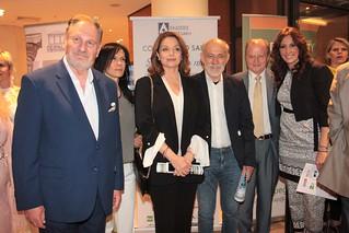 11.Ο Costantino Salis, η Μαρία Κεβγά, η Άντζελα Γκερέκου, ο Γιώργος Λιάνης, ο εφοπλιστής Γιώργος Τσαβλίρης και η δημοσιογράφος - ποιήτρια Κλέλια Χαρίση.