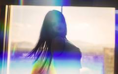 e_MG_0396 (Ben Garcia Photography) Tags: approved canon 6d 50mm bedroom boudoir black hair sexy portrait portraiture implied lingerie full frame bokeh vegas hotel green spektrem spectrum prism rainbow refracted refraction backlight silhouette