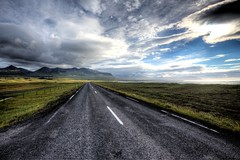 Snæfellsnesvegur, Rt 54, Iceland (stasb) Tags: stasburdan hdr iceland snæfellsnesvegur snæfellsnes dramatic skies journey