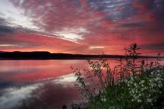 Lever du jour mémorable (gaudreaultnormand) Tags: canada leverdesoleil longexposure longueexposition quebec saguenay sunrise ciel paysage eau