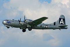 NX529B (Commemorative Air Force) (Steelhead 2010) Tags: commemorativeairforce americanairpowerflyingmuseum boeing b29 superfortress fifi yhm nreg nx529b