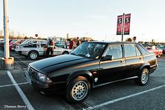Alfa Romeo 75 V6 3.0 1988 (tautaudu02) Tags: alfa romeo 75 v6 30 lyon epoquauto epoqu 2015 auto moto rétro cars coches automobile voitures