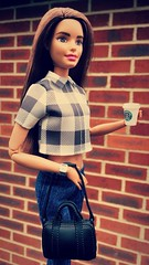 Autumn is in the air (MaxxieJames) Tags: vittoria belmonte barbie mattel made move doll fashion fashionista psl starbucks coffee miniature