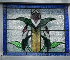 A tiny stained glass window (idunbarreid) Tags: stainedglass window