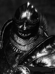 Winged Knight (D4l41L4m4) Tags: fromsoftware bandainamco bandainamcoentertainment darksoulsiii darksouls3 darksouls ds games gaming game pc reshade character enemy knight warrior armour armor monochrome blackandwhite blackwhite bw