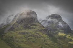 Twa Sisters (explore) (calumarchibald) Tags: glencoe 3 sisters gearraonach mountain scotland scottish highlands sky landscape canon canon24105
