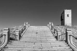 Stairs from Scheveningen