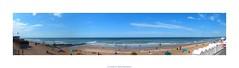 plage de Cabourg (cowsandgirl71) Tags: eau mer cabourg manche calvados ciel reflet bleu sable nuage normandie plage