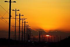 Atardecer en el tranvía (portalealba) Tags: zaragoza aragon españa spain sunset sol atardecer ocaso portalealba canon eos1300d 1001nights 1001nightsmagiccity 1001nightsmagicwindow nwn