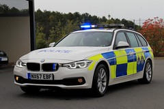 Cleveland Police BMW 330d Touring Roads Policing Unit Traffic Car (PFB-999) Tags: cleveland police cdsou bmw 330d 3series touring estate roads policing unit rpu traffic car vehicle lightbar grilles leds nx67ebf