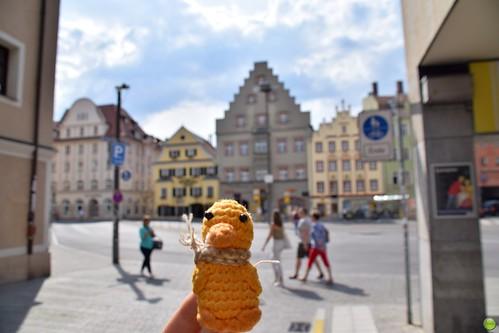 Ducky in Regensburg