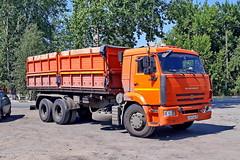 KamAZ-65115  К 947 МА 45 (RUS) (zauralec) Tags: kurgancity streetclarazetkin kamaz65115 к 947 ма 45 rus курган автомобиль грузовик улица