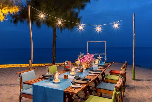 Beach Private Dinner