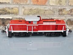 DB BR V90 (Dr Snotson) Tags: db br v90 lego train eisenbahn