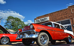 1956 Chevy 210 (Chad Horwedel) Tags: chevy chevrolet classic car morris illinois 1956chevy210 chevy210 210
