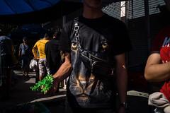 * (Sakulchai Sikitikul) Tags: street snap streetphotography summicron songkhla sony 35mm leica thailand tshirt a7s fleamarket tiger