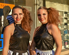 Twins l Debrecen l Hungary (max tuguese) Tags: twins portrait fashion street lifestyle photographer life people flickr art model outdoor light face faces smile maxtuguese nikon d3400 carnival festival nice clothes beautiful eyes hair mouth beauty