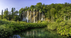 Pureness Fountain (PixStone) Tags: plitvice national park waterfall lake slap croatia europe nature landscape water pure clear fountain spring green colorful color morning light sunrise trees magic pierre bader nikon d7100