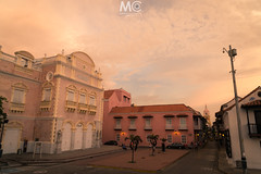 Dusk at Cartagena (Mariano Colombotto) Tags: cartagena cartagenadeindias colombia nikon travel city cityscape photographer photography dusk ocaso ciudad street calle sky colours tones architecture arquitectura colonial old
