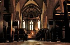 Église Saint-Fleuret d'Estaing (doumé piazzolli) Tags: aveyron églisesaintfleuretdestaing fz200 languedoc france patrimoine architecture voute voûtecroiséedogives gothique