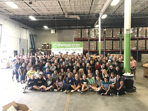 Bethel University Packing Event Group #2, 8/25/18