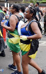 DSC_7140a Notting Hill Caribbean Carnival London Exotic Colourful Costume Girls Dancing Showgirl Performers Aug 27 2018 Stunning Ladies (photographer695) Tags: notting hill caribbean carnival london exotic colourful costume girls dancing showgirl performers aug 27 2018 stunning ladies