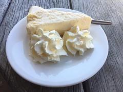 Vanilla cheesecake (Wanda Amos@Old Bar) Tags: wandaamos food stilllife iphone sweets dessert cream cake white