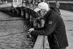Le pêcheur de maquereau. Brest, août 2018 (Bernard Pichon) Tags: finistère france fr brest fr29 bpi760 port pêche poisson bzh bretagne