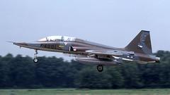 K-4001 1981-07 GH (Gert-Jan Vis) Tags: k4001 northrop f5 nf5b freedomfighter klu koninklijkeluchtmacht 4001 313sq kodachrome