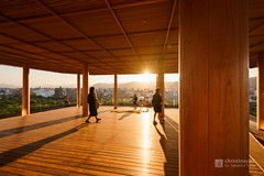 Observatory of Orizuru Tower (おりづるタワー) (christinayan01 (busy)) Tags: architecture building perspective observatory hiroshima japan