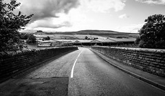 Middleton in Teesdale . (wayman2011) Tags: canon5dlightroom5 colinhart wayman2011 bwlandscapes mono rural villages pennines dales teesdale middletoninteesdale countydurham uk