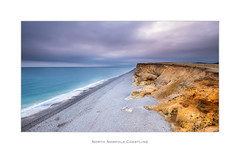North Norfolk Coastline (Ken Walker Photography) Tags: beach landscape shingle cliffs water weybourne sky seascape ocean sea norfolk clouds